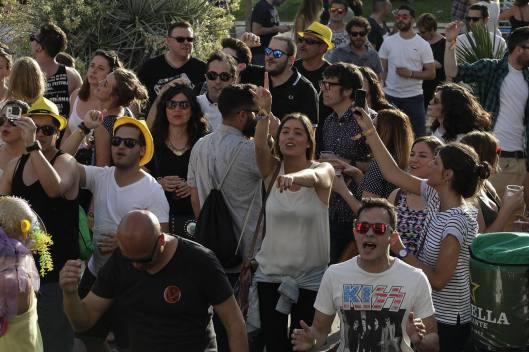 SOS 4.801/05/2015En la foto,asistentes al festival